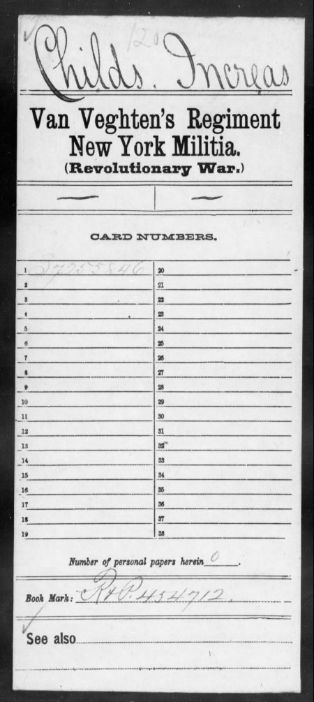 Increase Childs Fold3_Page_1_Compiled_Service_Records_of_Soldiers_Who_Served_in_the_American_Army_During_the_Revolutionary_War